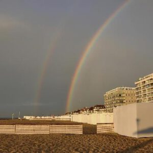 weerfoto regenboog