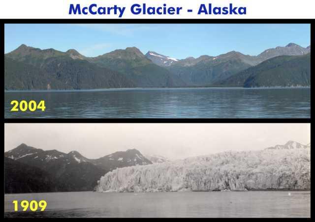 Afname gletsjerijs
