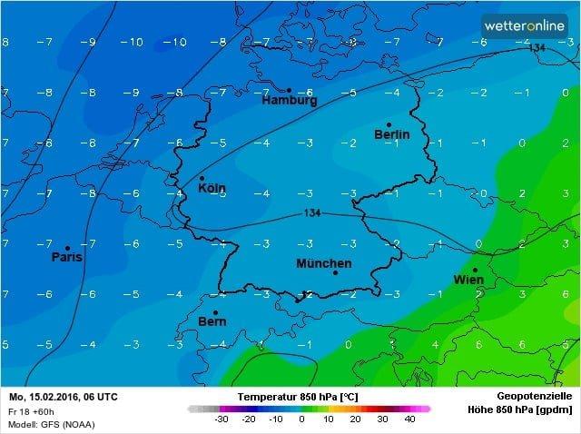 temperatuur 850 hPa nacht
