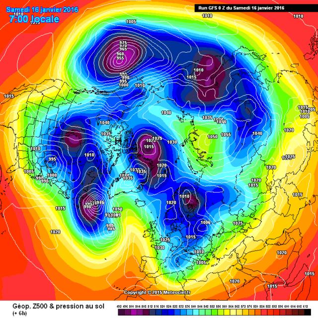 weerkaart-luchtdruk-Noordpool