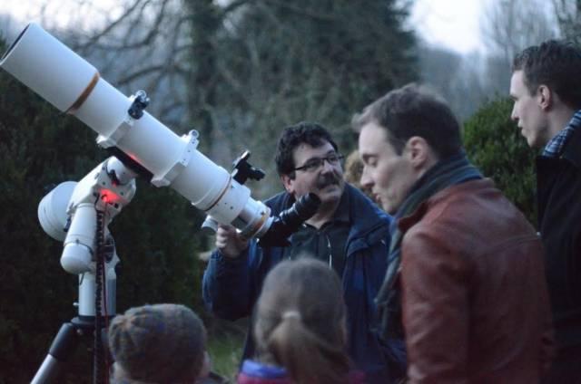 door telescoop kijken