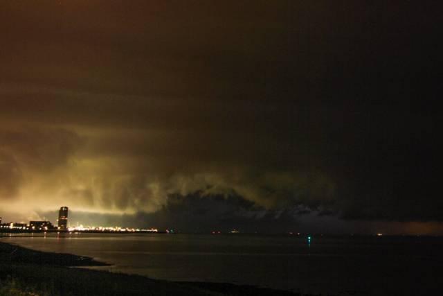 supercell nederland nacht
