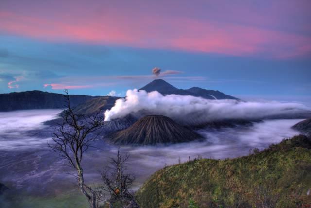 vulkaan en impact op klimaatverandering