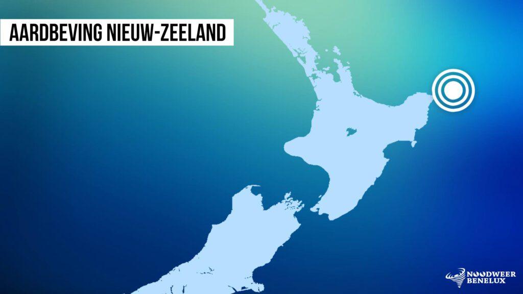 In het noordoosten van Nieuw-Zeeland werd net voor de kust een aardbeving van 7.1 op de schaal van Richter geregistreerd.