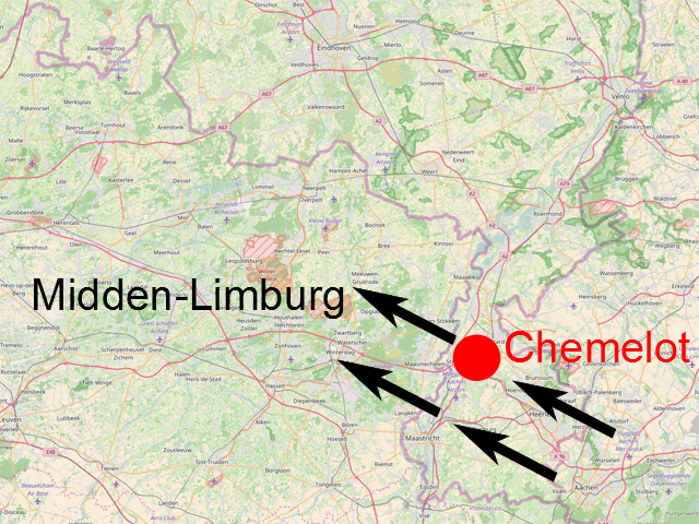 kaart limburg