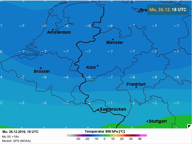 temperatuur 1500 meter avondperiode