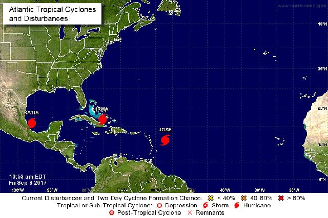 hurricanes atlantic