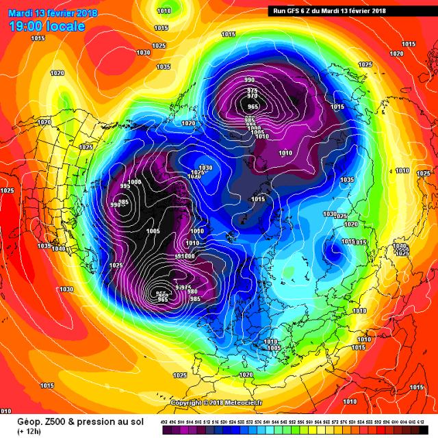 troposferische polar vortex korte termijn