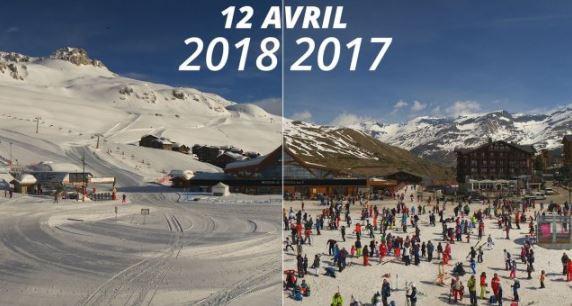 Sneeuw april 2018